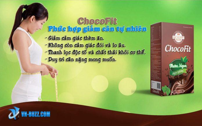 ChocoFit giảm cân tự nhiên hương vị socola