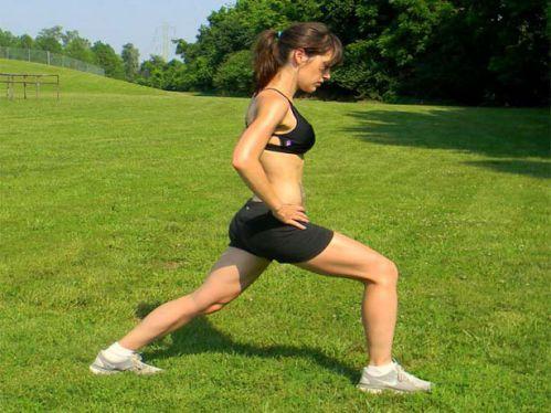 Bài 2: Bài 2: Chùng chân – Lunge