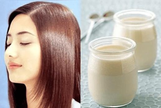 Sữa chua dưỡng tóc
