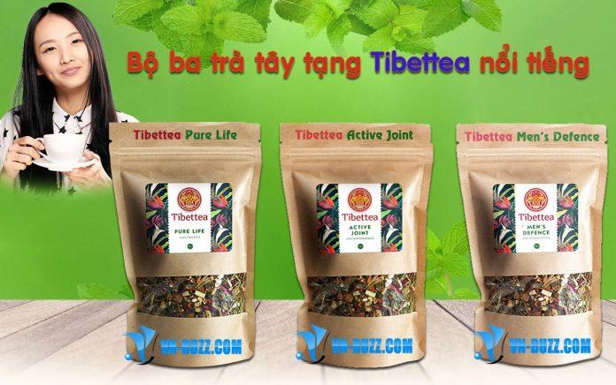 Tibettea bộ ba trà tây tạng nổi tiếng năm 2018