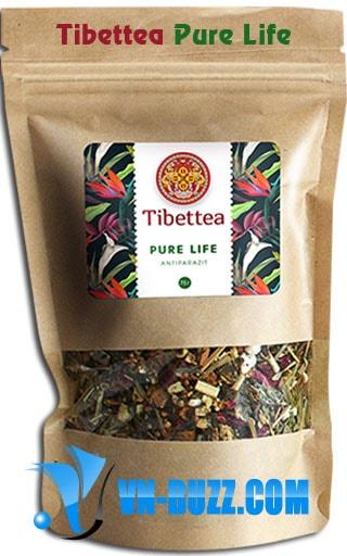 Tibettea Pure Life chống ký sinh trùng