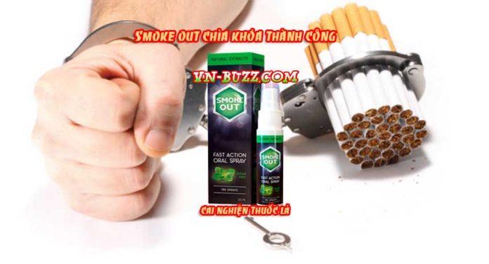 Với Smoke Out - Cai thuốc lá thật dễ dàng